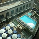 Patio/pool from 14th floor
