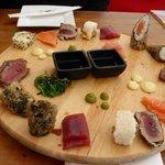 Sushi im Bries