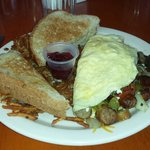 Supreme Omelet.  Very good!