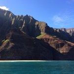 Beautiful day to tour the Na Pali coast!
