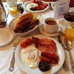 Irish Breakfast with Black Pudding. YUMMY!