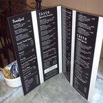new menu at taste.x