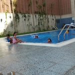 swimming time is full of enjoyment