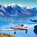 Piper Warrior, Lake Coleridge