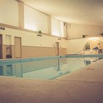 Pool Facility - Pool, Spa, Locker Rooms, and Seating Areas