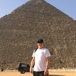 Me at the Great Pyramid