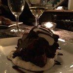 Chocolate pudding....