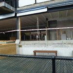 The Gutted Waterfront Restaurant. Oct 2014
