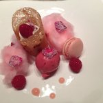 Dessert: a spectacularly sweet and gorgeous finish