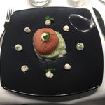 Entrée: A delicate and fresh beginning