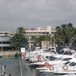 Hotel from the Marina