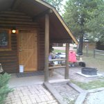Cabin and eating area
