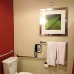 All the luxuries in bathroom