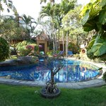 Pools and garden