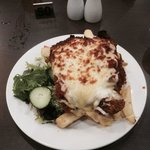 Chicken Parma So big could not finish it all