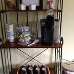 Fresh coffee in kitchen