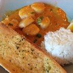 Creole scallops - EXCELLENT