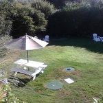 picnic croquet area