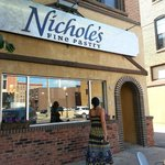 Pretty brick building, home to Nichole's Pastry