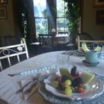 Breakfast at the Swann Inn