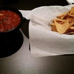 Amazing chips and salsa!
