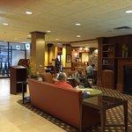 The lobby at the Kahler Inn hotel