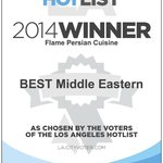2014 Best Middle Eastern