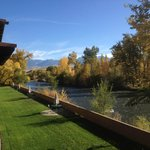 View from Room Overlooking Island Park & Salmon River