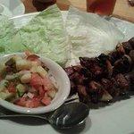 Steak teriyak lettuce wraps