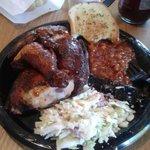 Chicken BBQ dinner