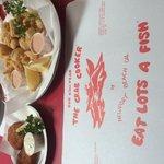 Crab Cakes and Calamari