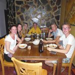 Dining Table - With some great people ! :)