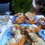 Une des salades estivales et vraiment délicieuse