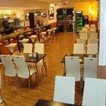 Restaurante Chaparro. Sala de bar-cafetería. Grupo Chaparro