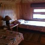Upstairs in the Log Cabin