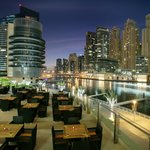 Zafran @ Dubai Marina Mall - Outdoor seating