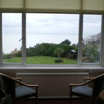 bay window and sea view