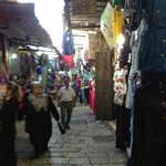 The souk outside the hotel.