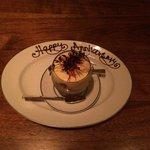 Dessert con dedica