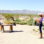 Amazing backdrop & authentic ranch activities