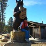 Llegando al Lago en Big Bear