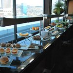 Executive lounge buffet afternoon