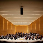 The Buffalo Philharmonic Orchestra performs at Kleinhans Music Hall.
