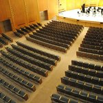 A view from the balcony of Kleinhans Music Hall.