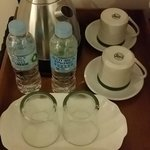 Complimentary water and coffee making facility