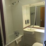 Bathroom at Premier Inn Hanger Lane