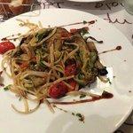 linguines légumes croquants