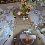 Table Setting - Upper Barn