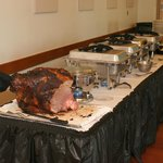 Wedding buffet catered by Vittorio's