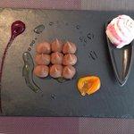 Crème chocolat au kumquat confit